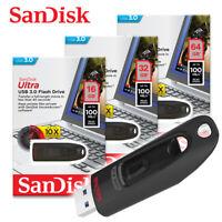 SanDisk Ultra 16GB 32GB 64GB USB3.0 Flash Drive USB-Sticks bis zu 100MB/s SDCZ48