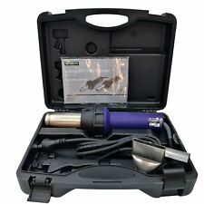 WELDY 3400W Heat Gun Plastic Welding Gun Universal Kit Hot Air Hand Tools