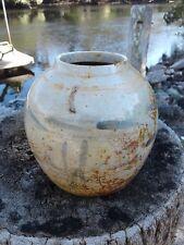 Authentic 1700's Antique Chinese Ginger Jar Pot Savannah Georgia