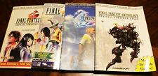 Final Fantasy VIII, IX, X, Anthology Strategy Guides. Brady Games