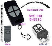 868,3 Mhz Hand transmitter compatible to Berner Garage door BHS121 BHS211 BHS221