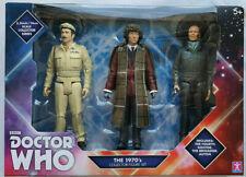 Doctor Who gli anni 1970 quarto Dottore Tom Baker Collector Tre Figure Set