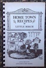 1970s LITTLE BIRCH ELEMENTARY SCHOOL PTO COOKBOOK, LITTLE BIRCH, WV