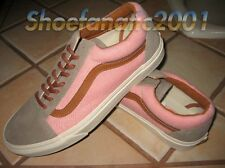 Vans Sample Old Skool Reissue Brushed Burnt Coral Turtledove Supreme Pink Wang 9