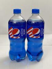 New Fresh Pepsi Blue 20 oz Bottle 2 Count