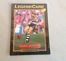 1994 AFL SELECT GEELONG CATS GARY ABLETT SNR RARE LEGEND LIMITED EDITION CARD