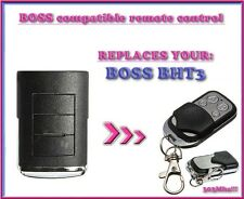 BOSS BHT3 303mhz compatible remote control, replacement transmitter