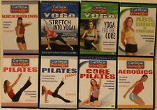 8 Caribbean Workout DVD lot pilates stretch into yoga kickboxing Shelly Mcdonald
