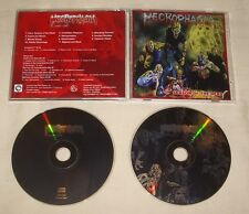 NECROPHAGIA - Season Of The Dead 1983-1987 2XCD ORG AreaDeath Productions 2007