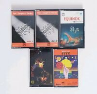 STYX Bundle 5 x Tape Cassette - Best of Styx, Equinox, Kilroy was Here
