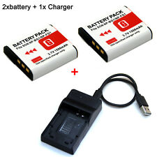 3.7V NP-BG1 Battery /Charger For Sony Cyber Shot DSC-W30 DSC-W35 DSC-W40 DSC-W50