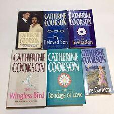 Catherine Cookson 6x Novels (2 Hardbacks)- Garment, Cinder Path, My Beloved Son