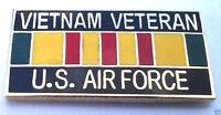 ** VIETNAM VETERAN US AIR FORCE ** Military Veteran Hat Pin 15629 HO
