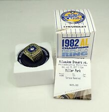 1982 Milwaukee Brewers Replica World Series Ring