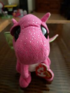 Ty beanie boos Darla Dragon used with good hang tag