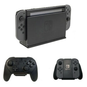 HIDEit Switch Mount | Nintendo Switch Wall Mount (Black) | + 2 Uni-C