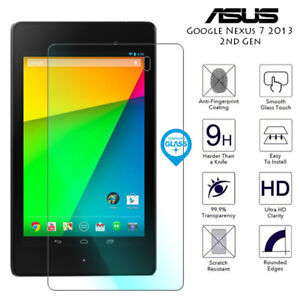 For Asus Google Nexus 7 2013 2nd Gen Tab Genuine Tempered Glass Screen Protector