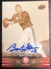 **Bart Starr** Upper Deck Authenticated Alabama Crimson Tide Autograph!!