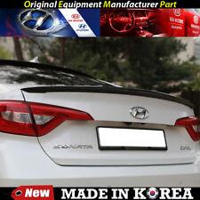 OEM Rear Trunk Wing Lip Spoiler - Phantom Black for 2015-2017 Hyundai Sonata