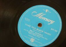 78rpm BILLY DANIELS that old black magic / i get a kick out of you