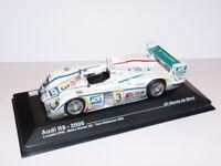 24H20 voiture 1/43 IXO 24 Heures Le Mans : AUDI R8 Winner 1st 2005 Lehto