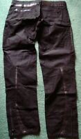 NWT/NEW HARD TO FIND AMAZINGLY COOL PUNK A/X ARMANI EXCHANGE PANTS + BONUS-SZ=34