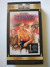 The Bridge on the River Kwai Vhs Columbia Classics- 7 Academy Awards