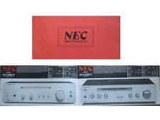 BROCHURE HIFI NEC - vers 1980