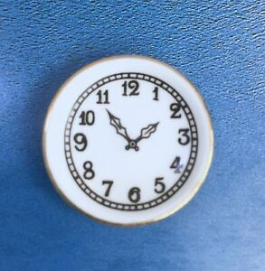 Reutter Porcelain Dollhouse Miniature Wall Clock
