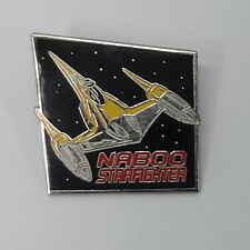 "Star Wars Episode One Naboo Starfighter Pin 1½"" - FREE S&H (SWPI-63)"