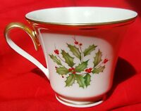 Lenox China Holiday (Dimension) COFFEE / TEA CUP - MINT CONDITION!!!