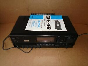 Fisher Studio Receiver Amplifier Tuner RS-914A FREE SHIPPING. 2.50