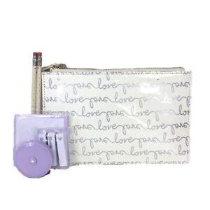 Kate Spade New York Love Script Bridal Pencil Case
