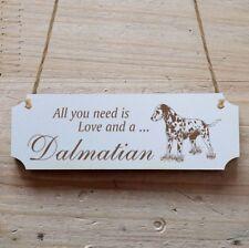 Türschild Dekoschild « Dalmatian » Hund Dalmatiner
