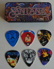 "Santana ""Supernatural"" Pick Tin Collector's 6 pick tin New Sealed"