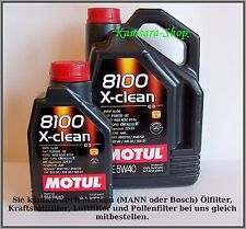 de Berlín ACEITE DE MOTOR MOTUL 8100 X-CLEAN C3 5w-40 6 Liter 5w40