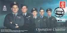Operation Chastise Signed by Sydney Harris Bomb Aimer  617 Sqn