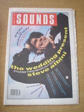 SOUNDS 1990 JANUARY 20 WEDDING PRESENT STEVE ALBINI MANOWAR GWAR RIDE BARRACUDAS