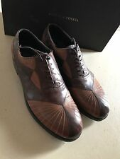 New $950 Bottega Veneta Men's Leather Shoes Brown 9 US ( 42 Eur) Italy 391711