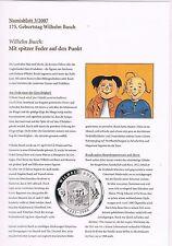 Numisblatt 2007 Beschreibung für die Blätter 2 u. 3/2007  in pro collect Folie