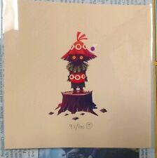 Olly Moss Skull Kid Zelda Majora's Mask Art Print Nintendo Poster Mondo Switch