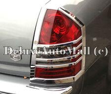 Chrome Tail Light Trims / Bezels (2 Pieces Set) FOR 2005 2006 2007 Chrysler 300