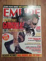 EMPIRE MAGAZINE # 110 AUGUST 1998 GODZILLA LOST IN SPACE HARRISON FORD CANNES
