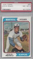 1974 Topps baseball card #49 Steve Renko, Montreal Expos PSA 8 NMMT
