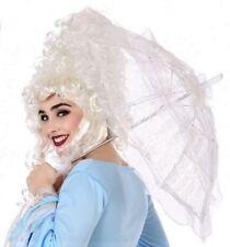 OMBRELLE Dentelle Blanche Accessoire déguisement Femme Marquise Mariage NEUF