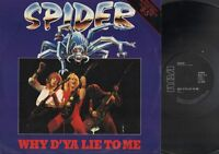"SPIDER Why D'Ya Lie To Me  12"" Ps, 1983 Nwobhm Maxi Single, 3 Trackis Inc 9-5+Fo"