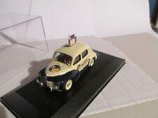 Renault 4cv publicitaire encres Waterman style caravane du Tour de France 1/43