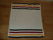 Boys or Girls BABY GAP Cream Striped Sweater Blanket Knit Blanket Excellent Cond