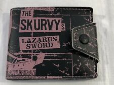 Paul Frank The Skurvy's Lazarus Sword Unisex Wallet Snap Closure Bifold NWT