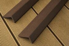 2.2 metre Wood Plastic Composite Decking Corner Edge Trim at £7.80 each inc. VAT